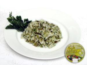 Weißkohl, saure Gurke, Zusatzstoffe und Gewürze sauer – Weißkohl in Verbindung mit sauren Gurken, mit überwiegendem Geschmack der Gurke